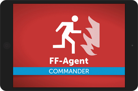 FF-Agent Commander-App auf iPhone und Android Tablets